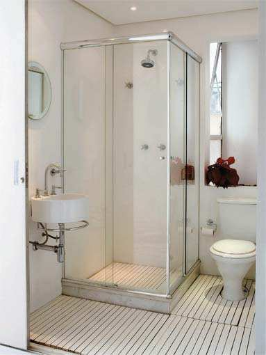 Ideale Penha Sala pequena, quarto pequeno, banheiro pequeno -> Banheiro Pequeno Quarto