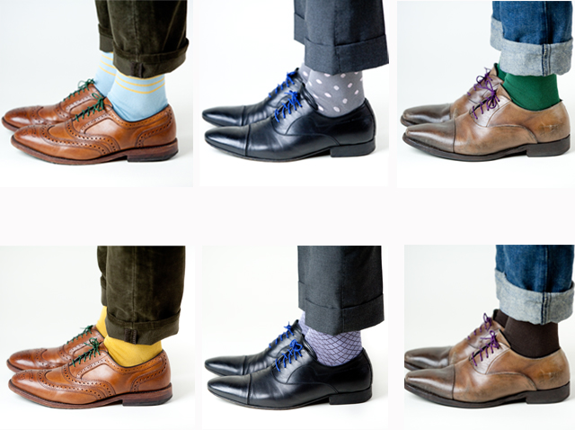 of color style socks