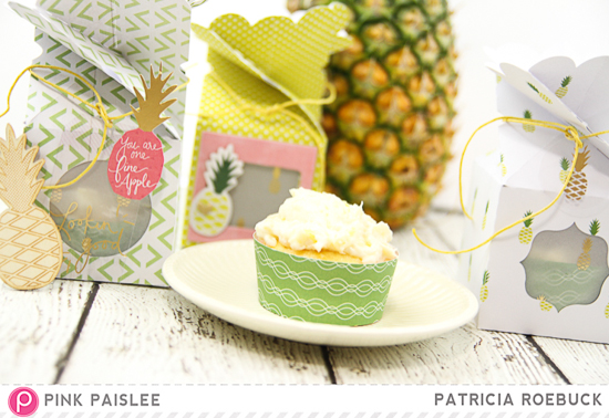 ... Adventures: Pink Paislee Citrus Bliss Meets Pineapple Bliss Cupcakes