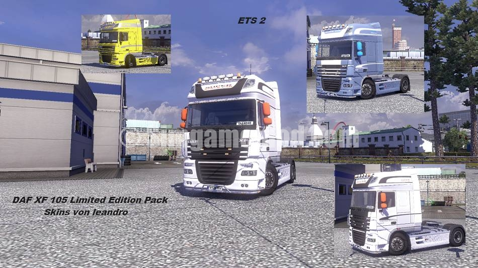 Euro Truck Simulator 2 Mods : DAF XF 105 Limited Edition