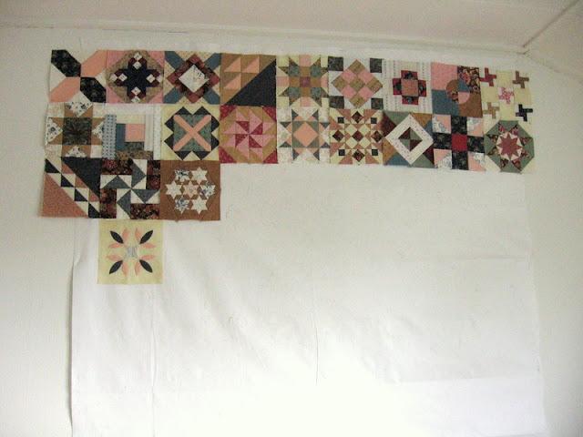 Blokken van 1865 passion sampler quilt