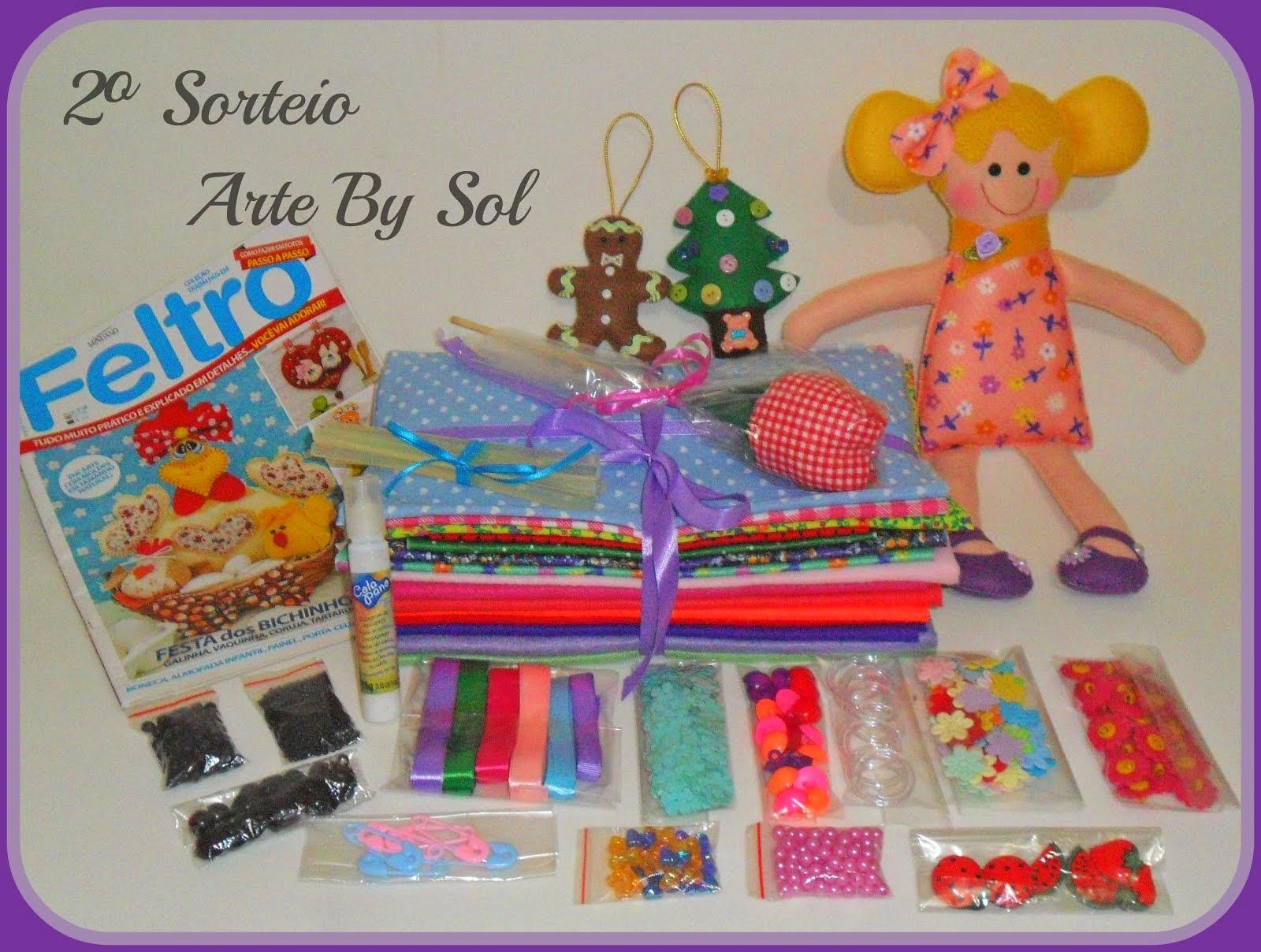 2º sorteio Arte By Sol