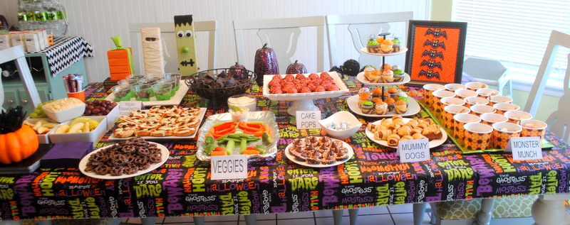 celebrate it halloween party food ideas