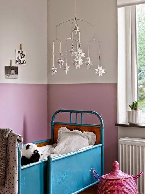 La petite fabrique de r ves scandinavian home la maison - Paredes infantiles pintadas ...