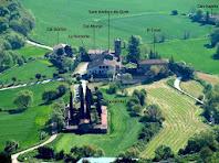 Sant Andreu de Gurb vist des del Turó de la Creu de Gurb
