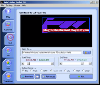 aplikasi edit video pc Kate's Video Toolkit