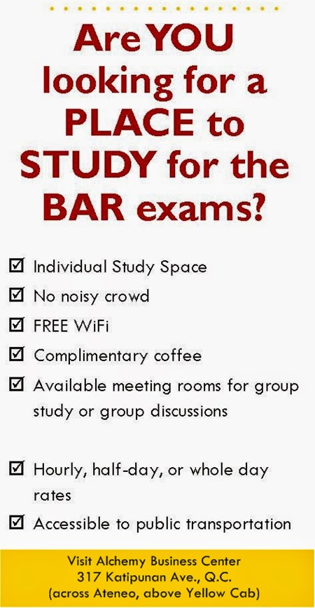 Prepare for BAR exams