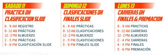 Programación Festival de la bajada 2014 Bogotá
