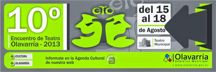 Encuentro de Teatro Olavarría 2013