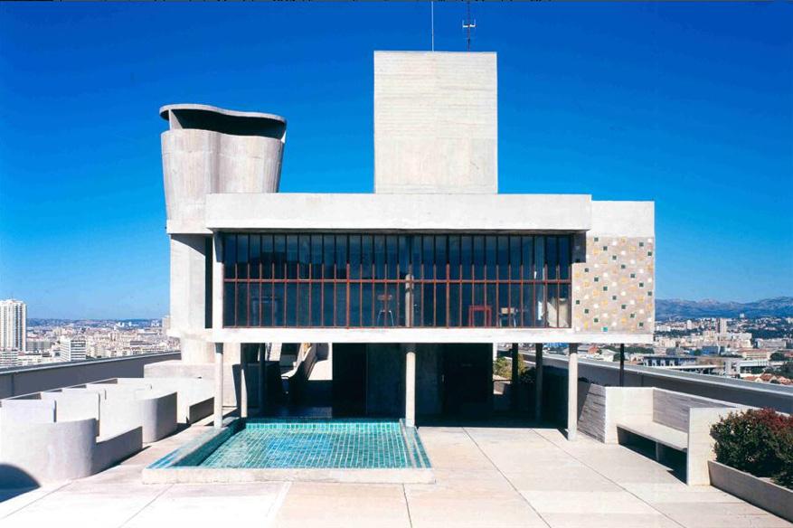 Le corbusier cit radieuse modern design by for Plan habitation