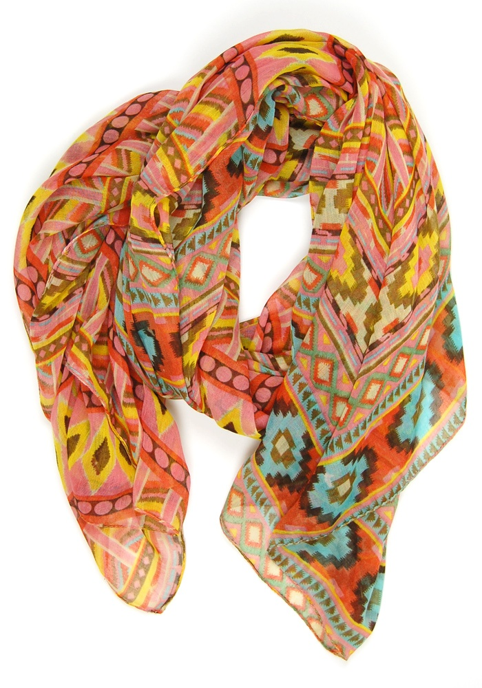 gorgeous patterned scarf