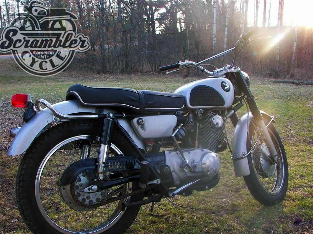 honda cl77 - 305 twin | scrambler cycle