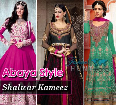 Abaya Style Shalwar Kameez 2015-2016