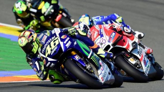 Momen Luar Biasa Valentino Rossi Taklukkan 22 Pebalap: Gladiator di Kandang Matador
