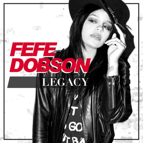 Fefe Dobson 'Legacy' Single Cover