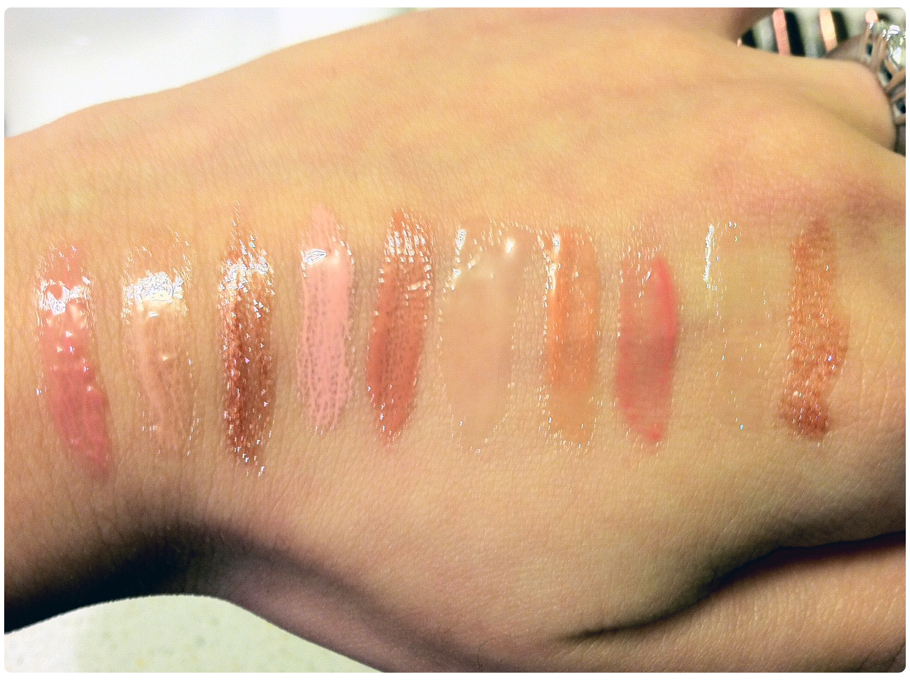 As you can see in the swatches