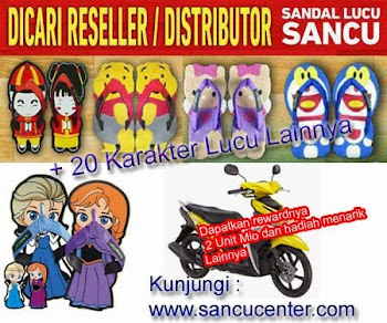 Sponsor : Suplier Sandal Lucu