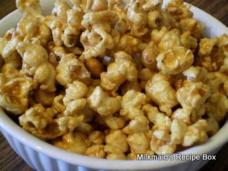 Microwave Caramel Corn