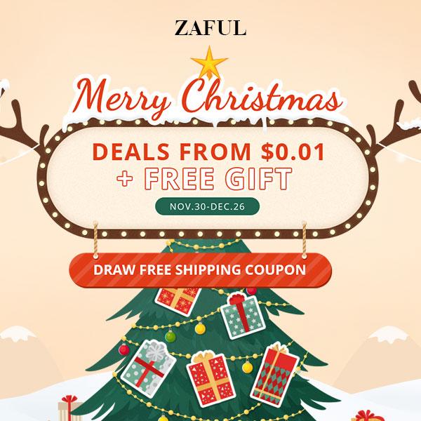 Zaful Merry Christmas