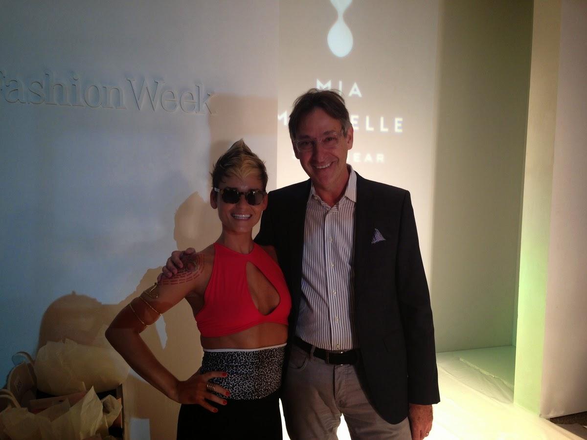 Edward Beiner Spring 2014 collection at Mercedes Benz Swim Week