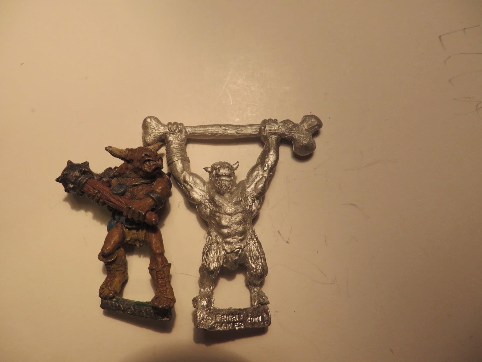 Fenris, miniatures, beastmen