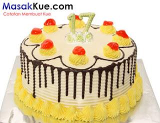 Resep Kue Tart Ulang Tahun Cantik