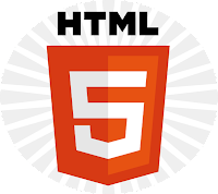 Free #HTML5 Logo Light