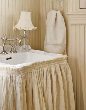 Here Are Some More Great Looking Bathroom Sink Skirts