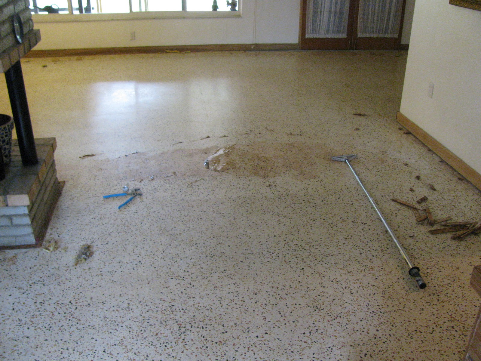 Terrazzo restoration epoxy coatings and concrete for How to remove stains from terrazzo floors