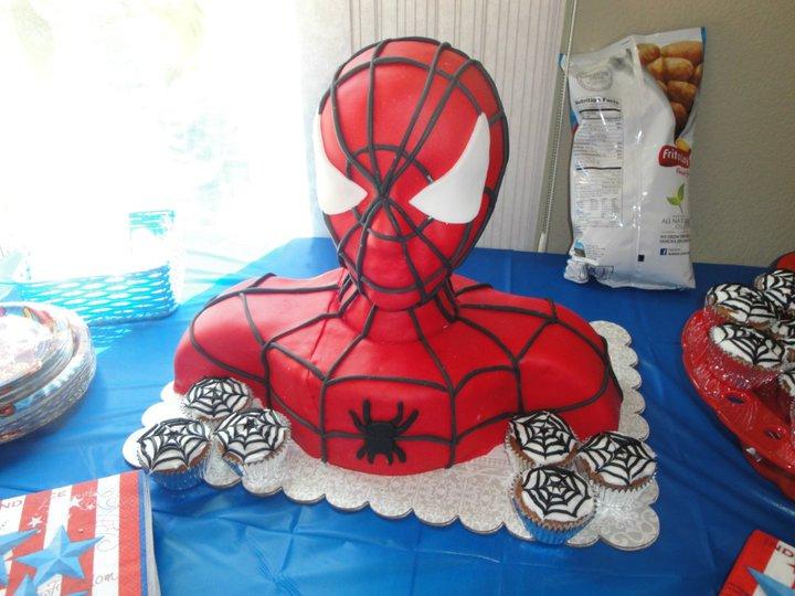 Pin Spiderman Vs Batman Huggies Birthday Cake Gallery