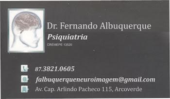 Drº FERNANDO ALBUQUERQUE -PSIQUIATRIA