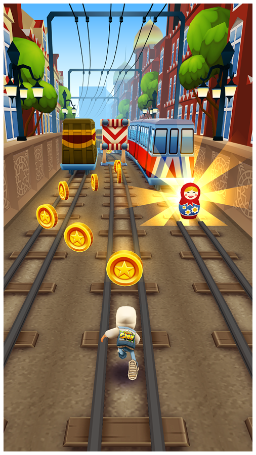 Subway Surfers MOSCOW MOD APK v1.14.0 (Unlimited Gold Coins+Keys)