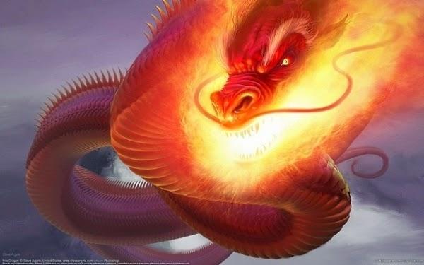 ảnh nền rồng lửa tuyệt đẹp