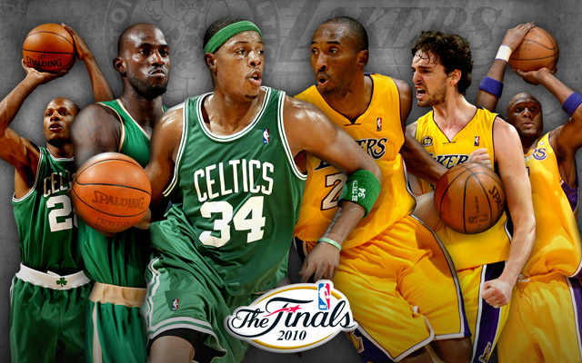 Image result for 2010 nba finals