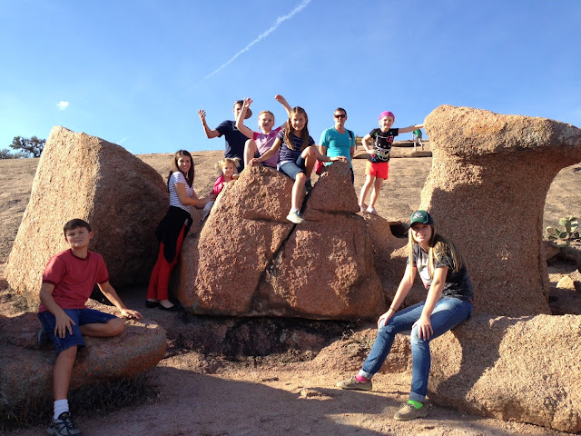 Enchanted Rock, Texas State Park, Yep that's really the name!