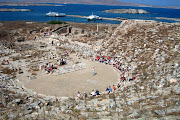 Maravillas del Mundo Antiguo IX: El Santuario de Apolo en Delos.