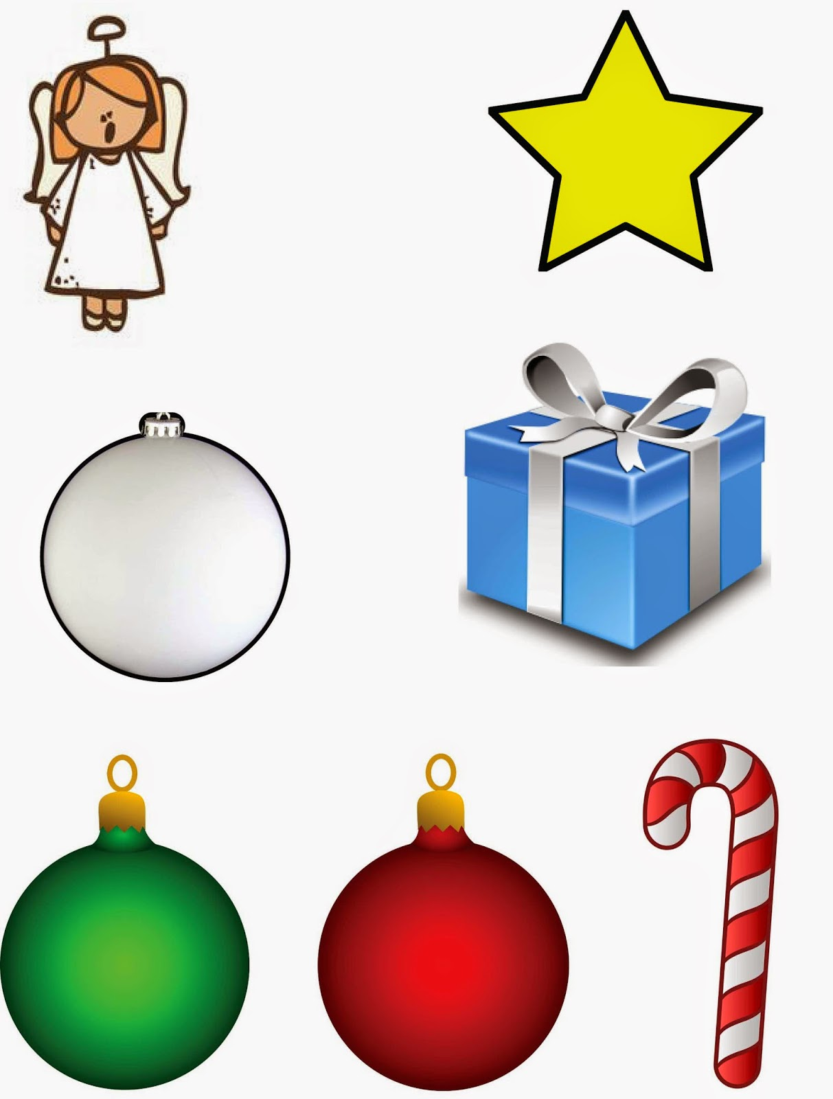 Kamis Primary Music Ideas Activity Christmas Symbols