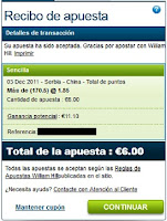 Voleibol - Copa del Mundo Serbia-China William Hill