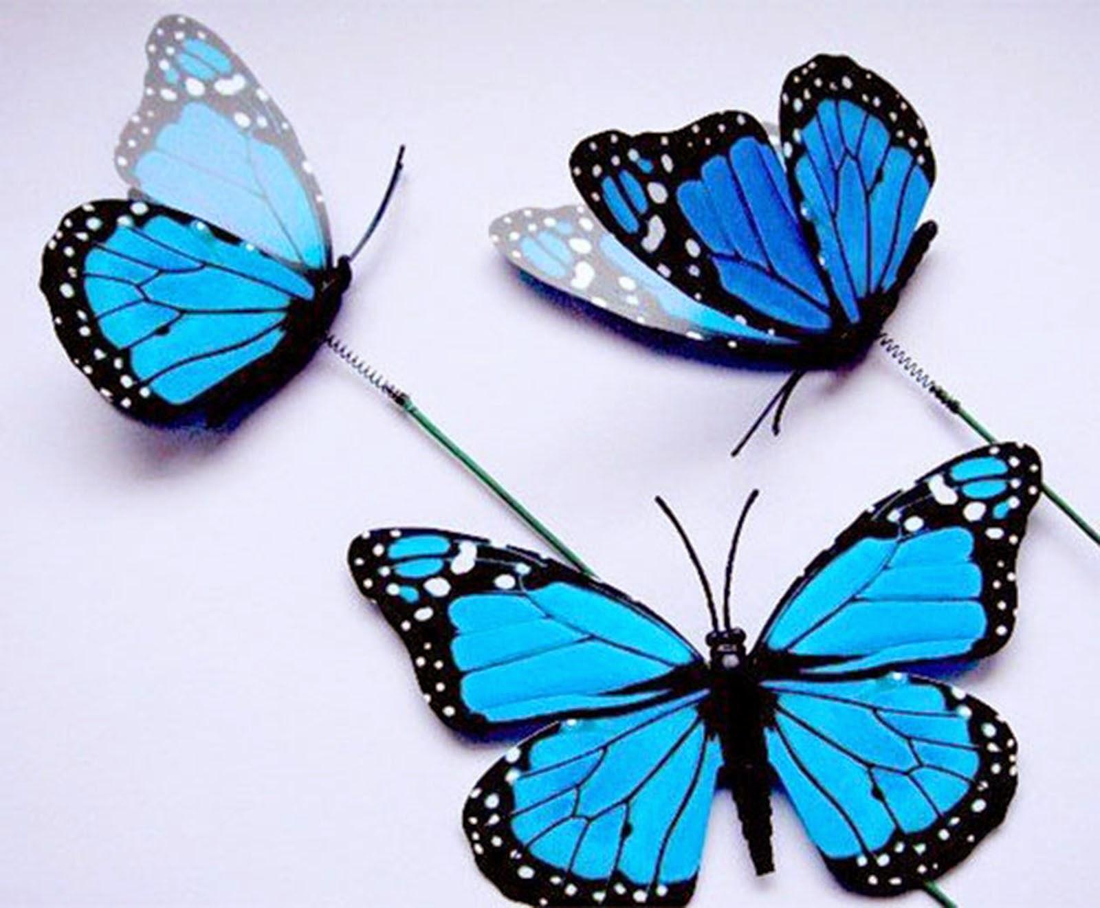 Mariposas para Tarta