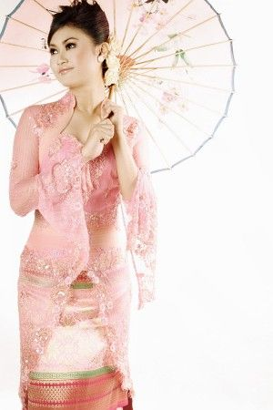 Model Kebaya Modern Busana Muslim 2012