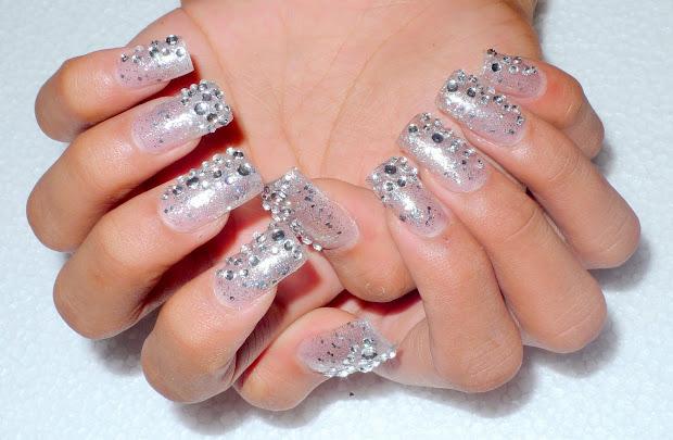 bling nails joy studio design