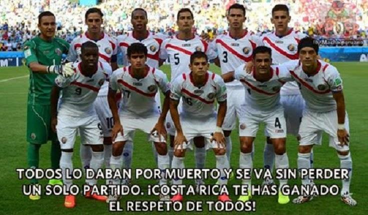 #Respect para Costa Rica