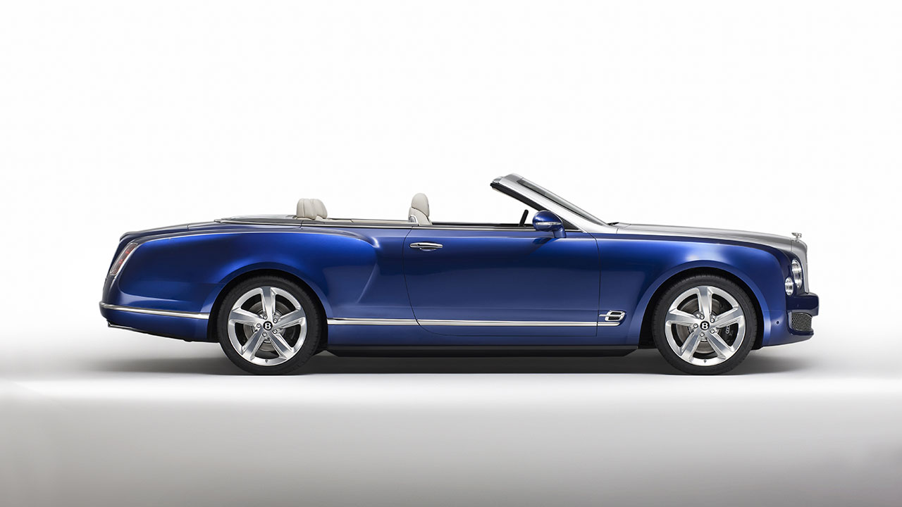 Bentley Grand Convertible side