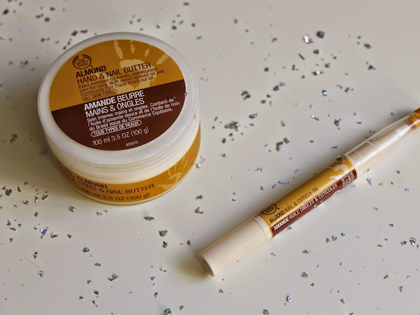 The Body Shop Almond - Hand & Nail Butter & Nail & Cuticle Oil.