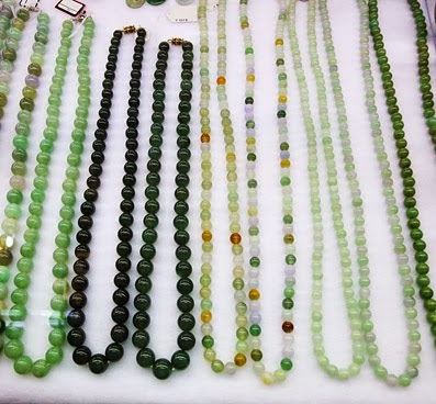 Jadeite Jewelry from Boyoke Market