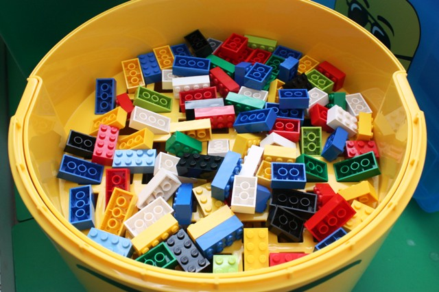 Silly Happy Sweet: Lego Storage and Organization: Spring Cleaning Week