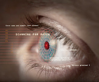 Retina eye scan machine