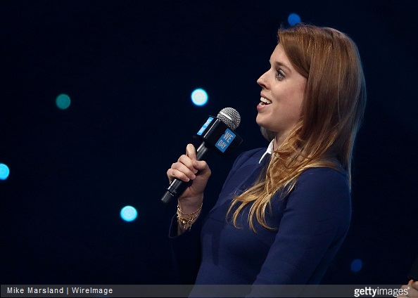 Princess Beatrice of York attends We Day UK at Wembley Arena on March 5, 2015 in London, England