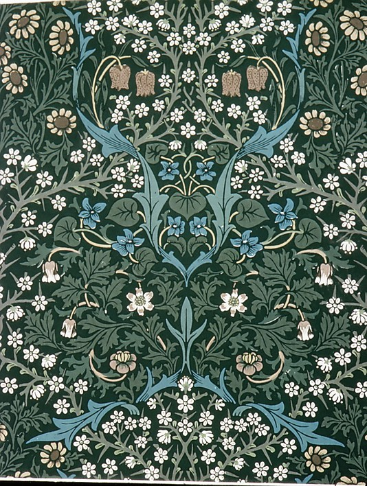 the red house william morris 39 wallpaper design
