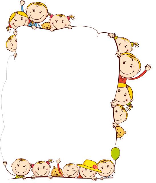 Bordes para caratulas infantiles para des - Imagui